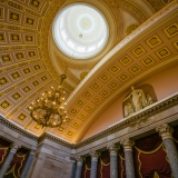 Ceiling of the National Statuary Hall